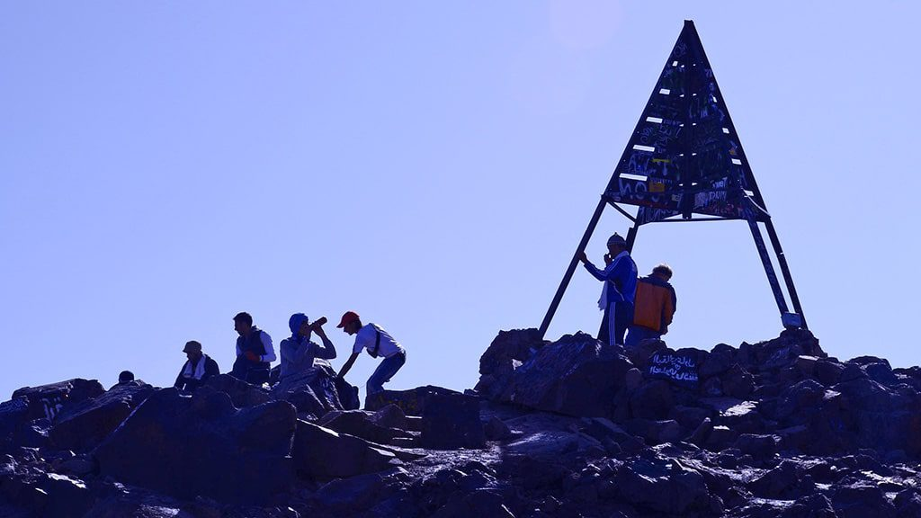 8 days tour and mount toubkal climb