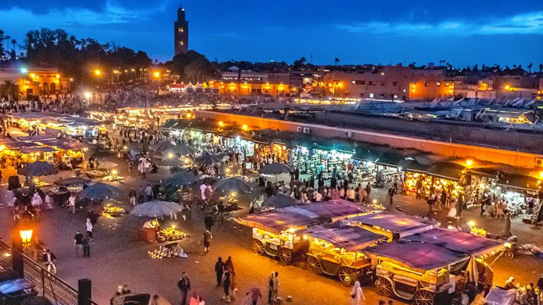 Marrakech Morocco destination